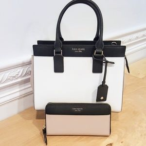 1fd9587794c Women Beige And Black Handbag on Poshmark